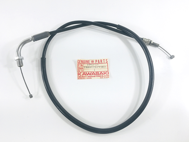 Throttle Cable b4 Kawasaki NOS KZ1000 1981 # 54012-1110