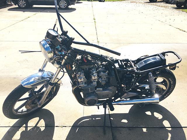 1981 Kawasaki Kz550 Ltd Parts Bike 9093